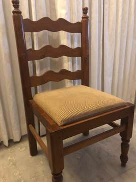 Solid Teak Dinning chairs