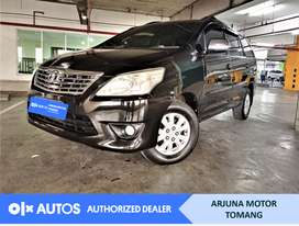 [OLX Autos] Toyota Kijang Innova 2013 2.0 G A/T Hitam #Arjuna Tomang