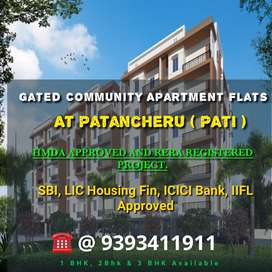 Gated Community Apart 1,2&3 Bhk at Patancheru