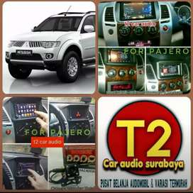 AJIB TV 2DIN FOR PAJERO ANDROIDLINK 7INC+CAMERA HD+PASANG MUMER T2 SBY