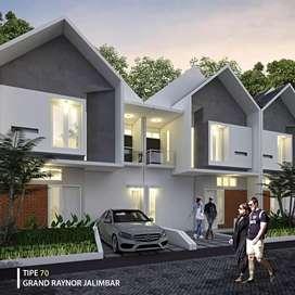 Rumah minimalis di perumahan lingkungan pendatang