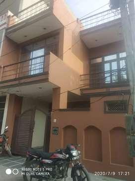Good condition house, new paint, car parking, park facing.