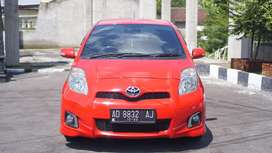 Toyota Yaris 2012 S Limited Merah Automatic Istimewa