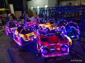 kereta panggung odong mini coaster murah full mobil lampu kelap kelip