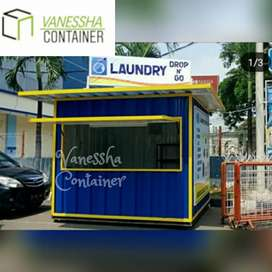 BOOTH CONTAINER CUSTOM / CONTAINER LAUNDRY / CONTAINER KEKINIAN /