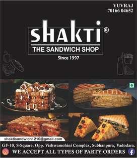 Shakti The Sandwich Shop subhanpura