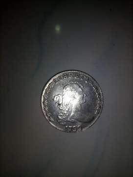 Uang koin lama thn 1799