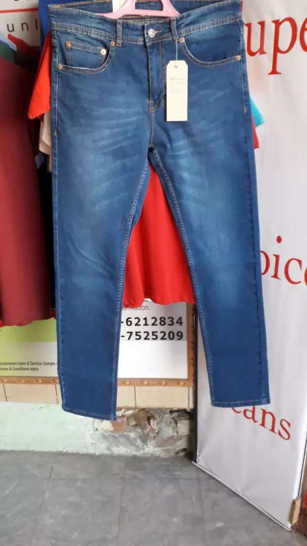 Levi's 511 Mid Blue Soft Stretch 0