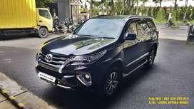 KM  32.000 Toyota Fortuner 2.4 VRZ AT Matic 2018 Hitam ASTINA MOBIL