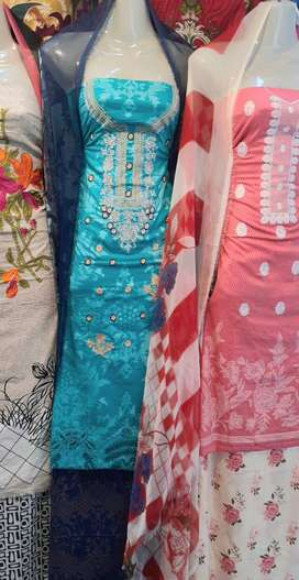 Sale  1500 1200 main LAWN suit ki sale special for Eid In just 1500