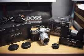 Fujifilm xt100 + fujinon 23mm f2