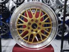 Velg Mobil HSR Wheel LEMANS Ring 16 Untuk Avanza Veloz Agya Jazz dll