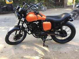 Modified Apache RTR with complete new look single seater loud sporty