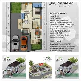 Rumah Mewah Melati Regency Way Kandis Bandar Lampung