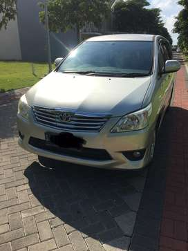Dijual toyota kijang grand innova 2012 2.5V diesel MT