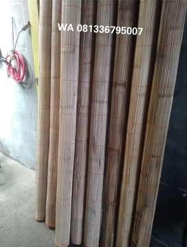 kerai bambu berbagai ukuran
