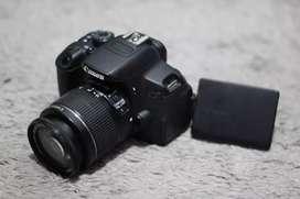 Canon 700D SC Rendah 10rb an + Kit 18-55mm Normal Siap Pakai