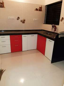 2 bhk Flat Semi Furnished Omkar Nagar