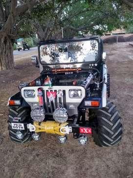 Modified open Jeep Gypsy Thar Hunter