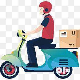 Hurry up''''urgent requirement''''''for food delivery 0