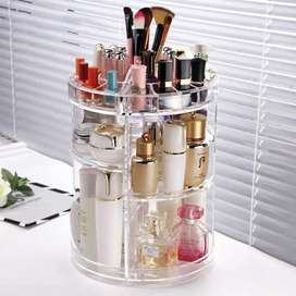 360 Degree Rotating Cosmetic Storage Rack