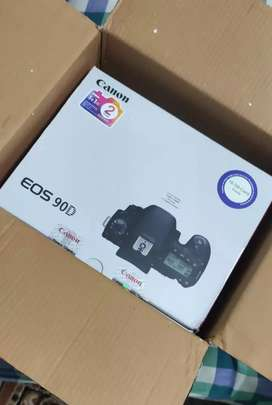 NEW UNUSED canon 90d body only