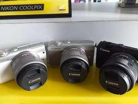 Canon camera mirrorless eosm100