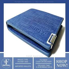 Pocket size Imported Leather Wallet