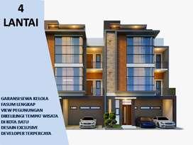 4 Lantai Tipe 131 Rumah Villa Dijual Di Batu Malang Pusat Kota Batu