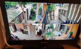 Paket cctv spc/dahua harga super ekonomis camera 2mp/1080p