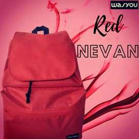 NEVAN RED ( NVNRD) Backpack