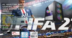 PC RAKITAN GAMING I3 10100F | 8GB RAM | GTX1650 SUPER | 240GB SSD