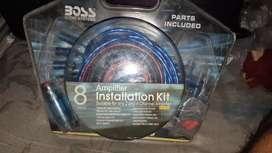 Boss amplifier installation kit