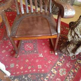 Antique Carving Rocking Chair