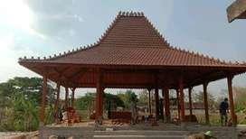 Jual Pendopo Joglo, Rumah Joglo dan Rumah Limasan Bahan Kayu Jati