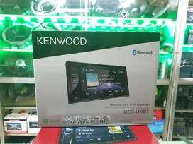 Tape Mobil. DobelDin Kenwood DDX 419BT Bluetooth + PASANG