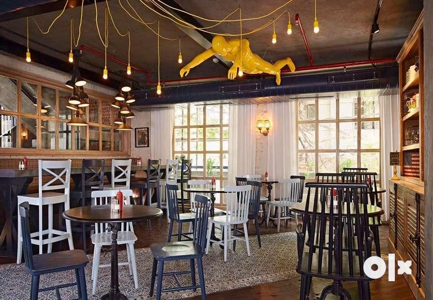Roof top restaurant availble on rent in GTB nagar 0