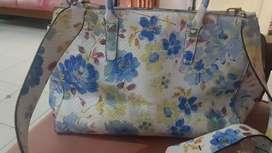 Guess floral blue ori