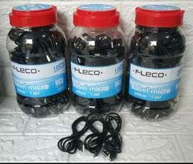 Kabel Charger Fleco Micro usb