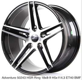 new ADVENTURE HSR R18X8/9 H5X114,3 ET40 BMF