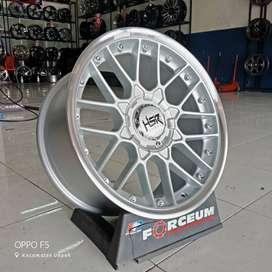 velg mobil racing HSR type formula ring 17x75-85 pcd 8x100-114 et30
