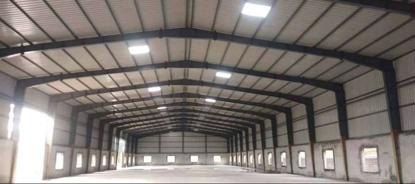 Industrial Prefabricated Light Steel Structure Shed Design in Pakistan 0