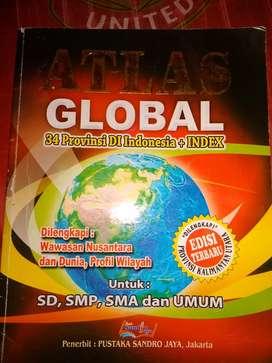 Buku Atlas Peta Global