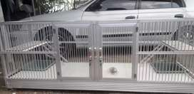 Rumah kucing almunium