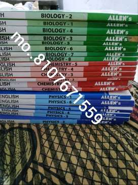 allen kota (40Book) NEET /AIIMS/jee BOOK 11th and 12th bothall sub pcb