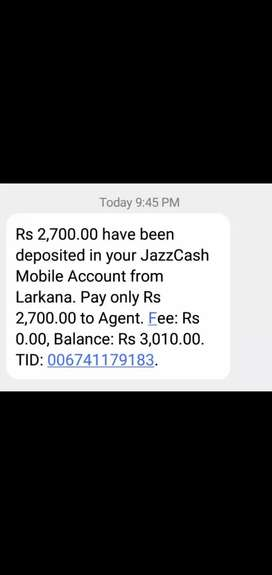 I am doing job as online part time , they every week mobicash to me