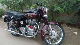 Fully restored royal enfield bullet for sale.