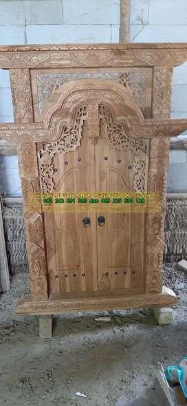 cuci gudang pintu gebyok gapuro jendela rumah masjid musholla zaemah
