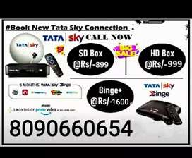 GET NEW HD CONNECTION TATA SKY #2021