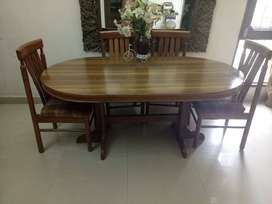 Teakwood Dining Table & Chairs